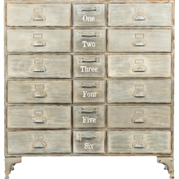 18-Drawer Cabinet by Zentique