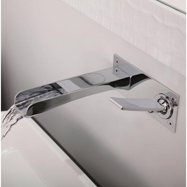 Zendo Wall Mounted Bathroom Faucet