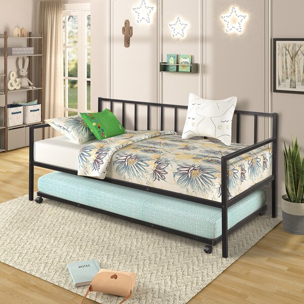 Seija Twin Daybed With Trundle By Ebern Designs