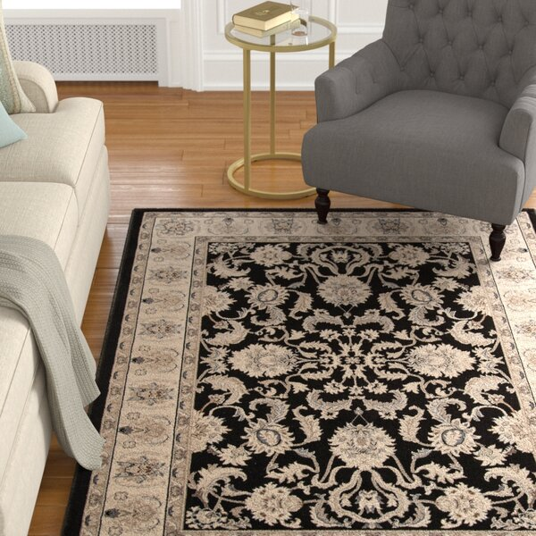 Mira Monte Charcoal Area Rug by Astoria Grand