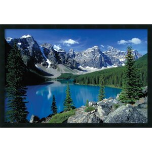 'Moraine Lake Banff' Framed Photographic Print by Latitude Run