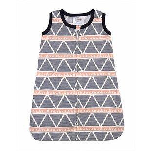 Reviews Tyann Large Triangles Muslin Wearable Blanket ByHarriet Bee