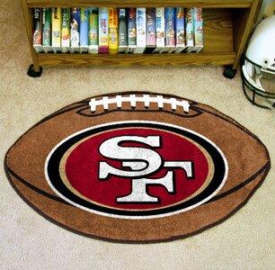 NFL - San Francisco 49ers Football Mat by FANMATS