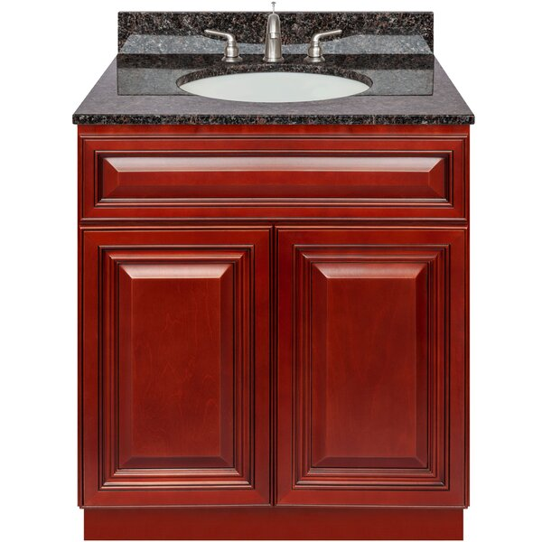 Hungerford 30 Single Bathroom Vanity Set by Charlton Home