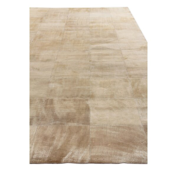 One-of-a-Kind Capri Hand-Woven Beige Area Rug by Exquisite Rugs