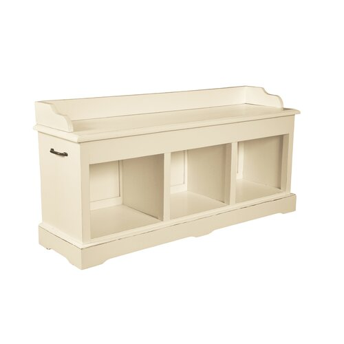 Cavallaro Wood Storage Bench Beachcrest Home