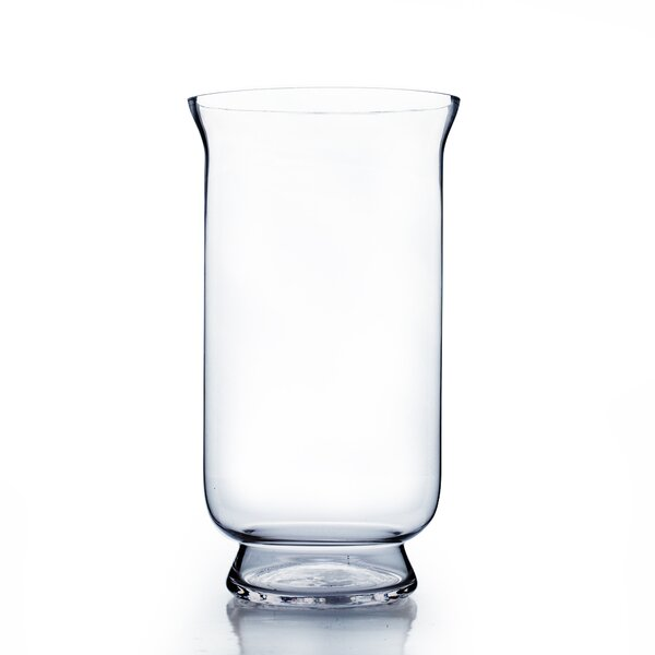 Hurricane Glass Vase by WGV International