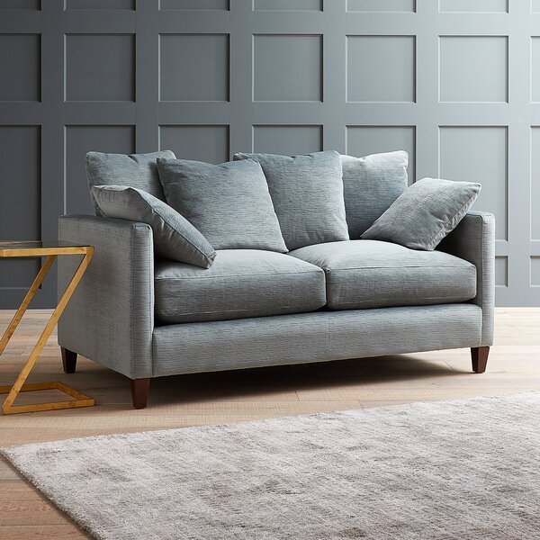 Last Trendy Kirsten Loveseat by Modern Rustic Interiors by Modern Rustic Interiors