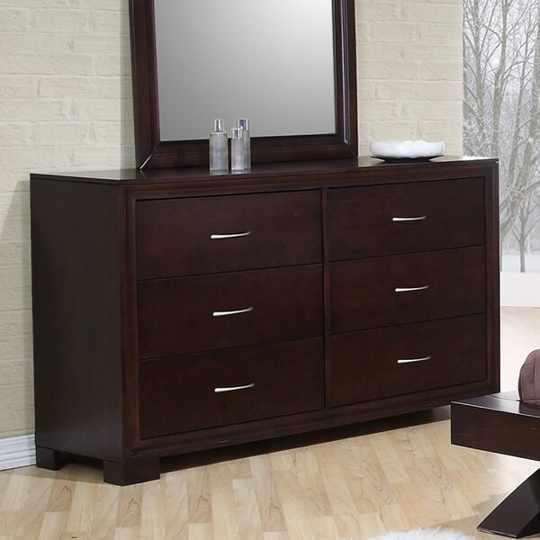 Linkwood Double Dresser in Rich Merlot by Wrought Studio