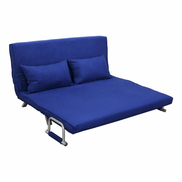 Edmund Folding Futon Sleeper Loveseat by Zipcode D