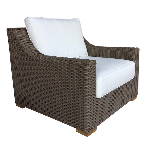 Hobson Patio Lounge Chair with Cushion by Bayou Breeze