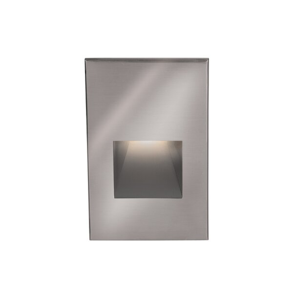 Rectangular Scoop 1 Light Step Light by WAC Lighting