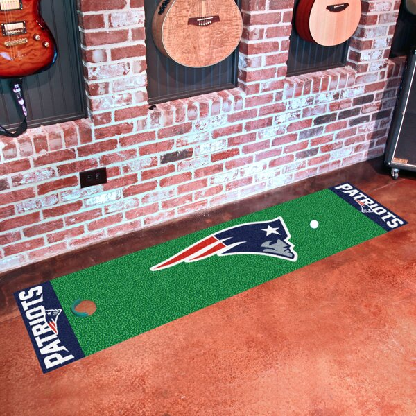 NFL New England Patriots Putting Green Mat by FANMATS