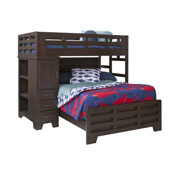 Walston Twin Over Full L-Shaped Bunk Bed by Breakwater Bay