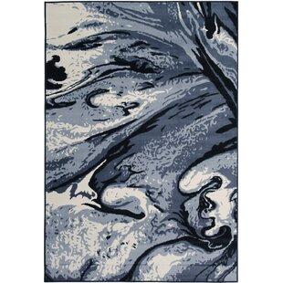 Affordable Price Bonner Gray/Black Area Rug ByBrayden Studio