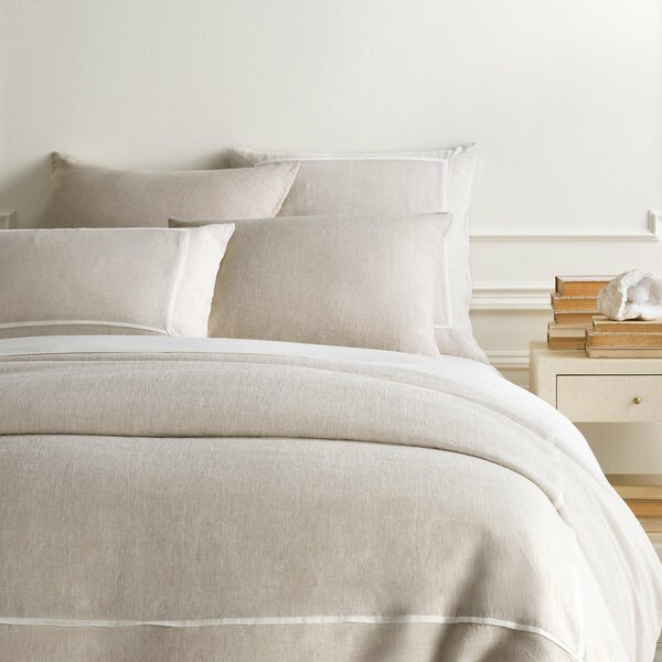 Keaton Linen Single Duvet Cover