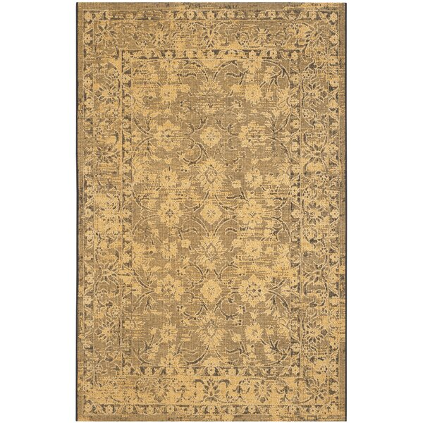 Langleyville Black/Cream Area Rug by Darby Home Co