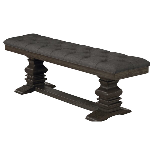 Rutland Upholstered Bench by Canora Grey Canora Grey