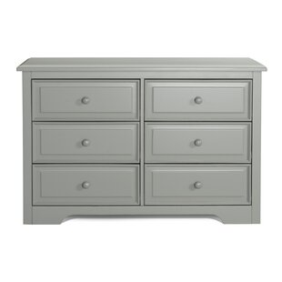 Brooklyn 6 Drawer Double Dresser by Graco