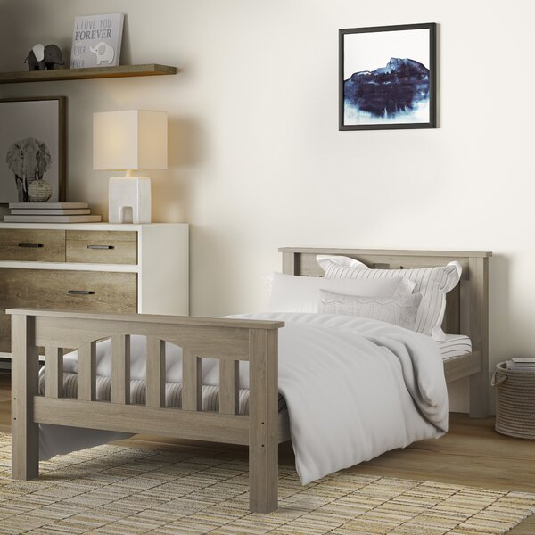 Bedlington Slat Bed by Greyleigh