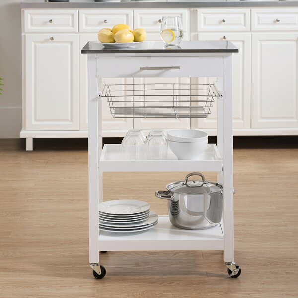 Edolie Kitchen Cart by Highland Dunes