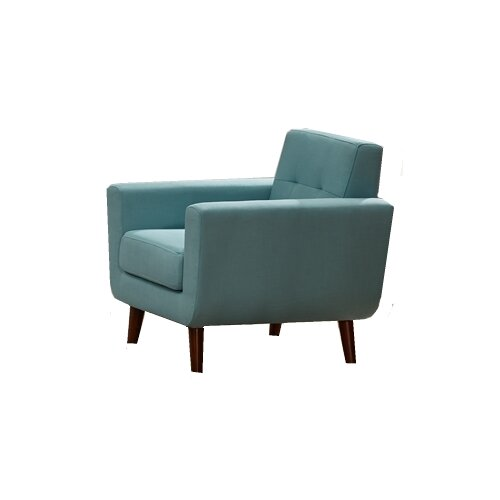 Rohan Fabric Armchair by Langley Street