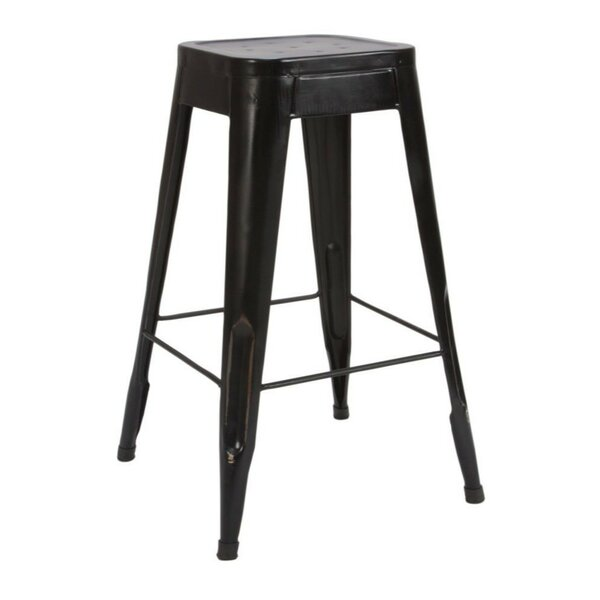Loken Metal 29 Bar Stool (Set of 4) by 17 Stories