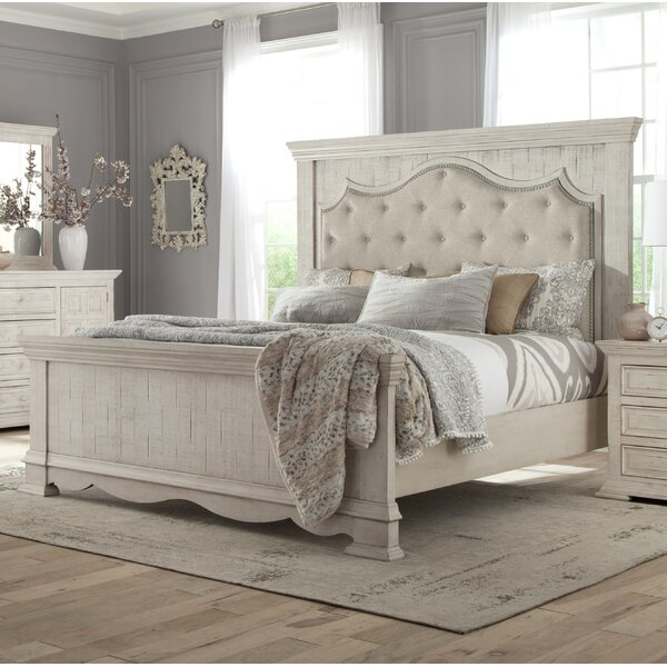 Cruz Upholstered Standard Bed by One Allium Way