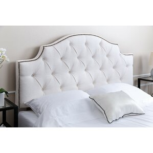 Mcalpine Queen Upholstered Panel Headboard by Darby Home Co
