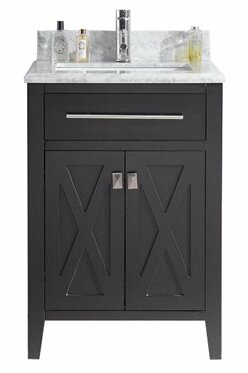 Wimbledon 24 Single Bathroom Vanity Set by Laviva