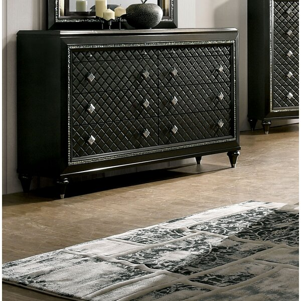 Modern  Pilton 8 Drawer Double Dresser By Everly Quinn Coupon