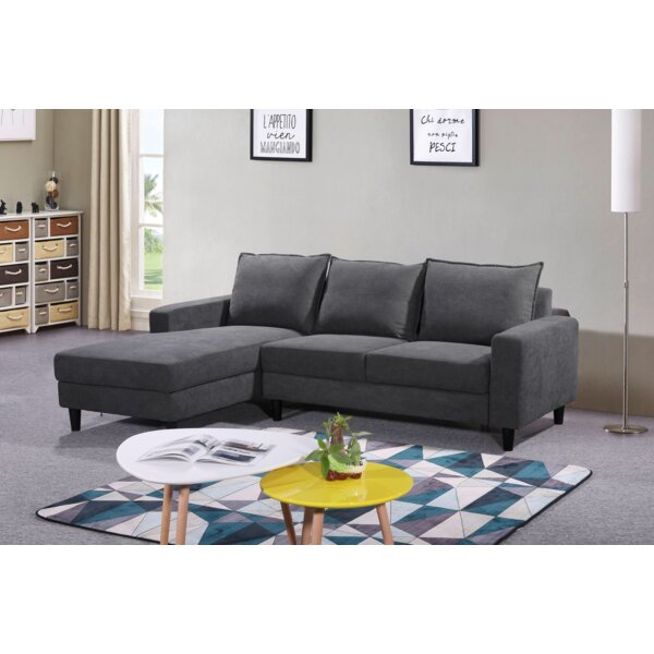 High-quality Gottfried Sectional by Ebern Designs by Ebern Designs
