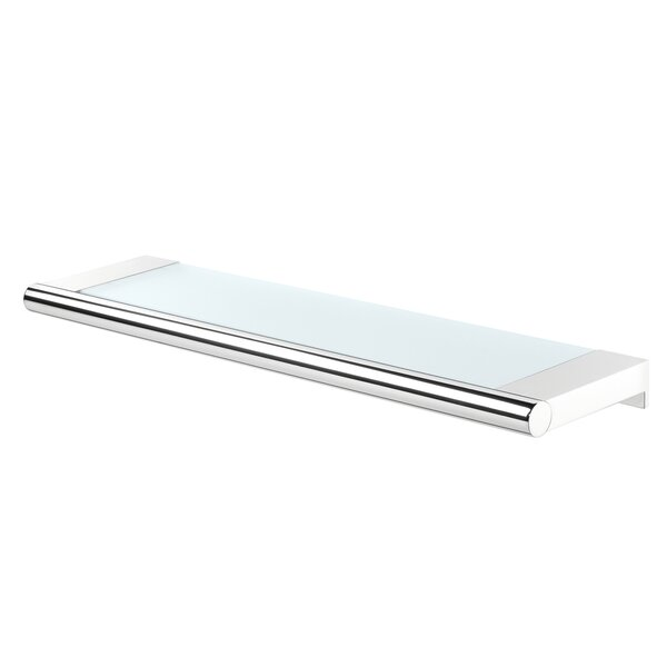Raquel Glass Floating Shelf by Ebern Designs