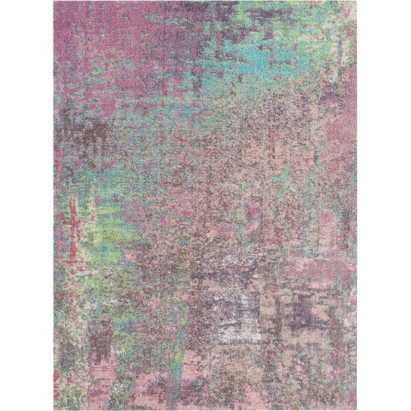 Carnglass More Hand-Tufted Pink Area Rug by Ivy Bronx