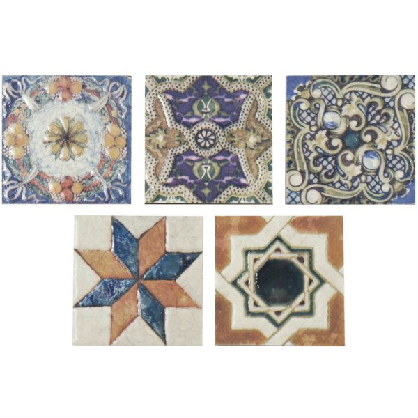 Accent Tiles - Decorative 4x4 metal tiles
