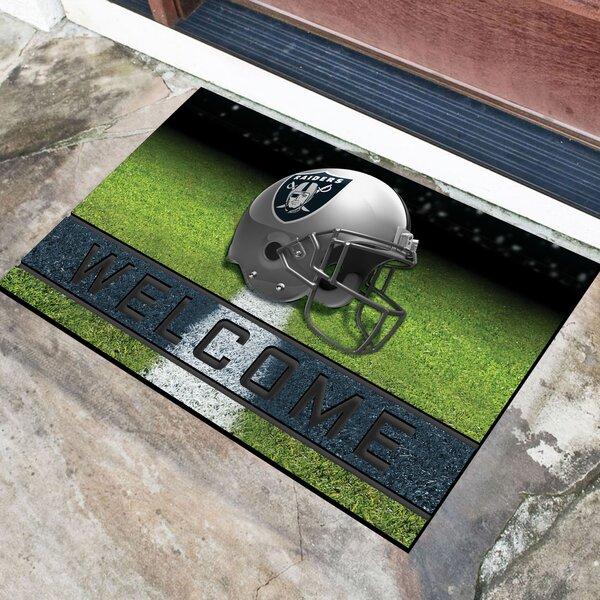 NFL Rubber Doormat by FANMATS