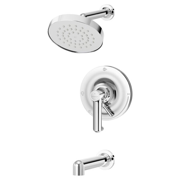 Museo Diverter Tub and Shower Faucet with Trim by Symmons Symmons