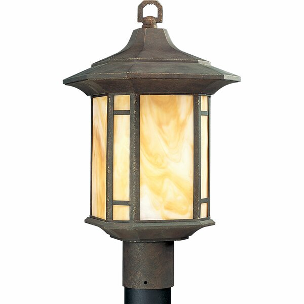 Triplehorn 1-Light Lantern Head in Brown by Alcott Hill