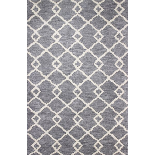 Constanza Hand-Tufted Grey Area Rug by Darby Home Co