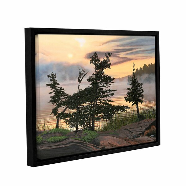 Auburn Evening by Ken Kirsh Framed Photographic Print on Gallery Wrapped Canvas by ArtWall