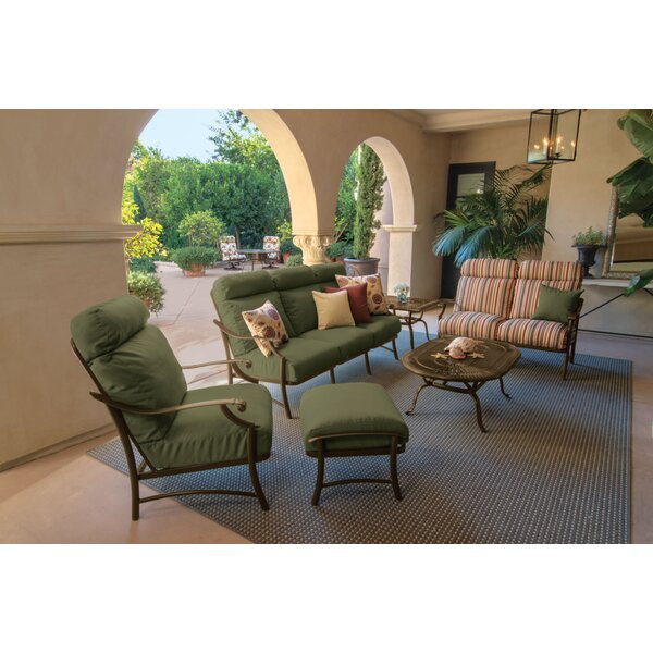 Montreux II Sofa Seating Group With Cushions By Tropitone