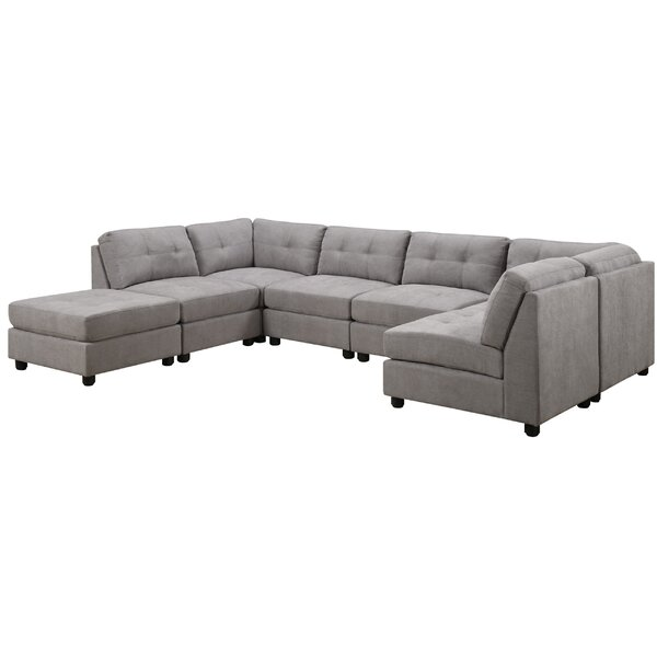 Review Shakir Modular Sectional With Ottoman