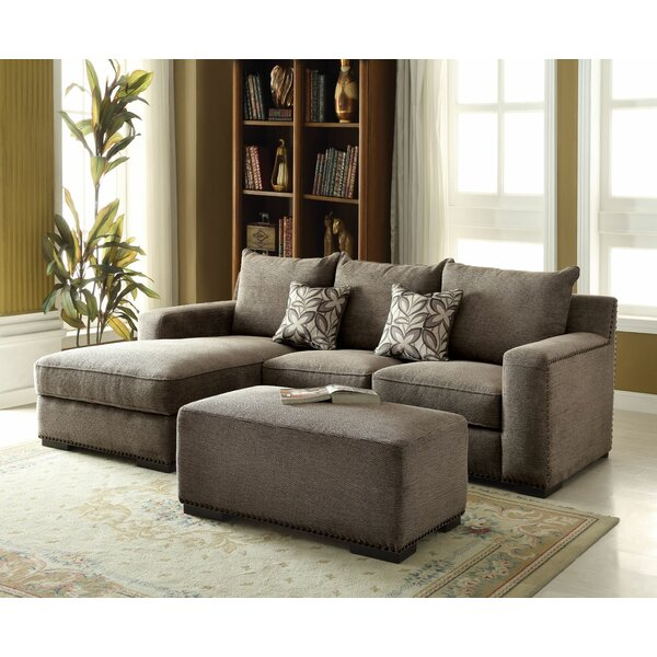 Finola Sectional with Ottoman by Darby Home Co