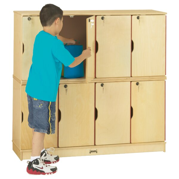 2 Tier 4 Wide Storage Locker by Jonti-Craft