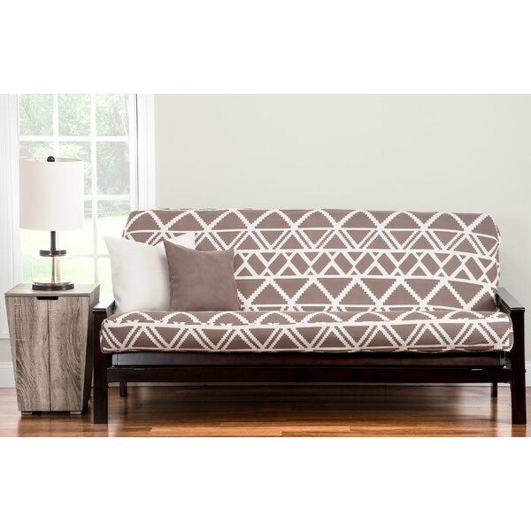 Geo Tribe Box Cushion Futon Slipcover By World Menagerie