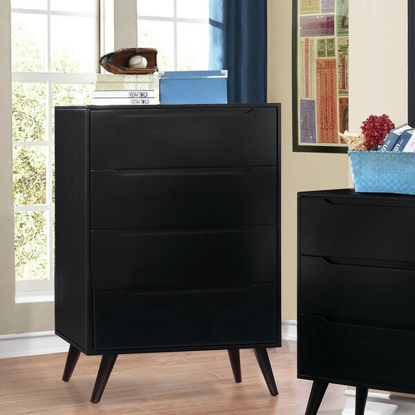 Ricardo 4 Drawer Chest by Langley Street