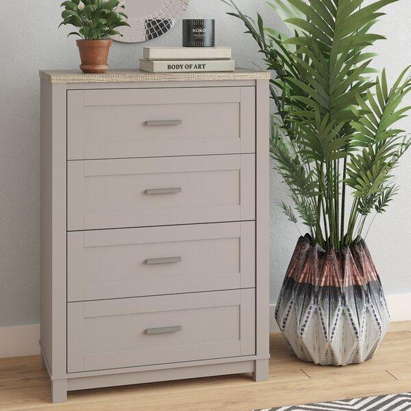 Callowhill 4 Drawer Dresser by Mercury Row