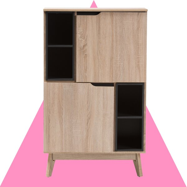 Calvin 2 Door Accent Cabinet by Hashtag Home