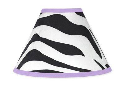 Zebra 10 Cotton Empire Lamp Shade by Sweet Jojo Designs