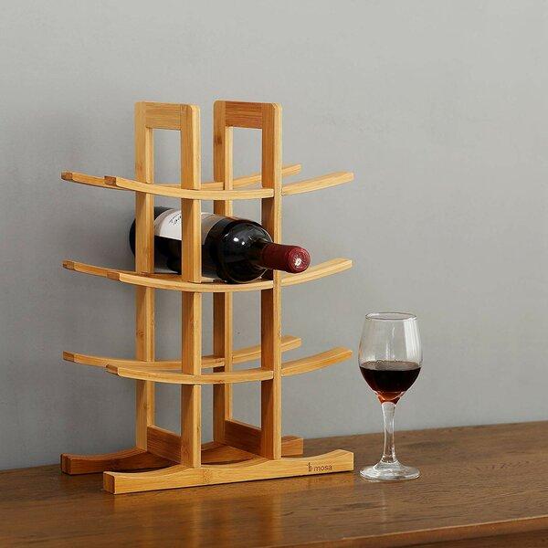 Gorgas 12 Bottle Tabletop Wine Bottle Rack by Millwood Pines Millwood Pines